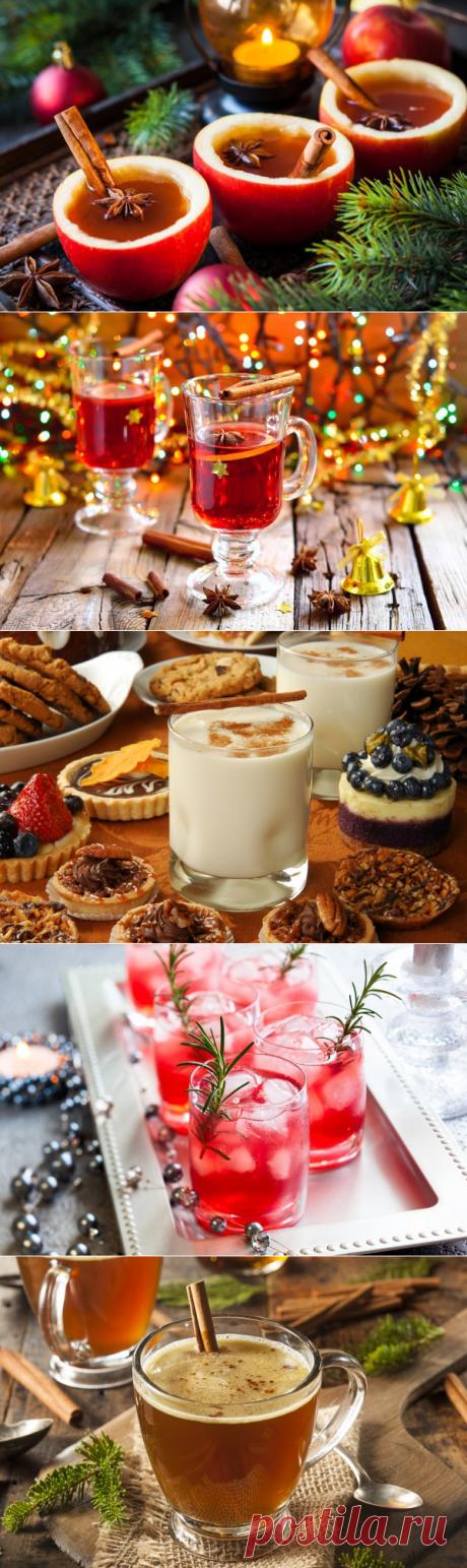 Рождественские напитки: ТОП-5 рецептов