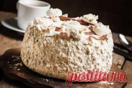Рецепт роскошного торта «Полёт» — Фактор Вкуса