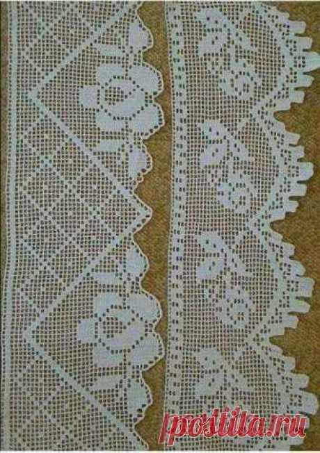 Пин от пользователя Evanilde Ana Souza на доске bicos de crochet   Вязание, Вязание крючком и Крючки Автор пина:Evanilde Ana Souza. Находите и прикалывайте свои пины в Pinterest!