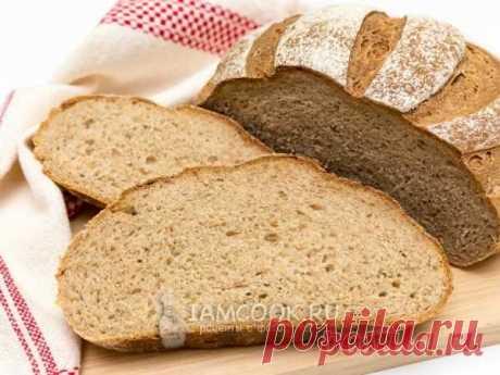 Хлеб из трех видов муки — рецепт с фото