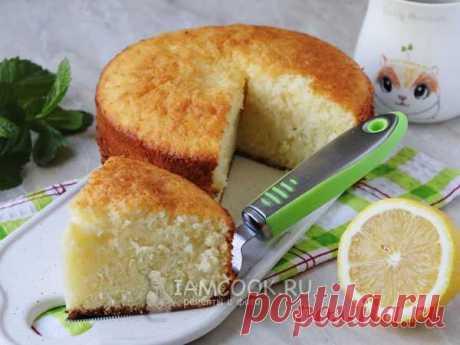 Итальянский пирог «12 ложек» — рецепт с фото Особенностью итальянского лимонного бисквита
