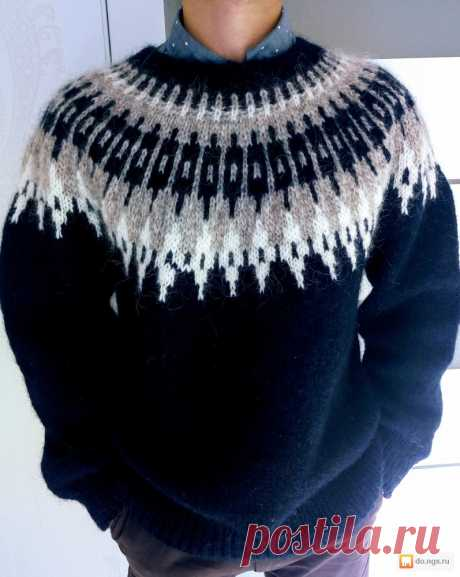 Вяжем знаменитый исландский свитер Лопапейса