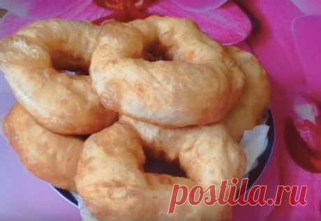 Смешиваем муку с водой и сразу на сковородку: вкуснейшие пончики без возни - Steak Lovers - медиаплатформа МирТесен