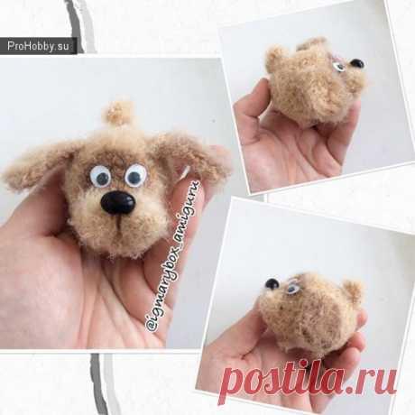 Крошка Бобик / Вязание игрушек / ProHobby.su | Вязание игрушек спицами и крючком для начинающих, мастер классы, схемы вязания
