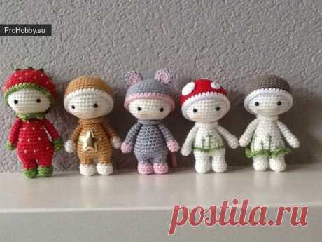 Миникуколки / Вязание игрушек / ProHobby.su | Вязание игрушек спицами и крючком для начинающих, мастер классы, схемы вязания