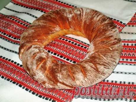 Хлеб-бублик Ciambella - 7 пошаговых фото в рецепте