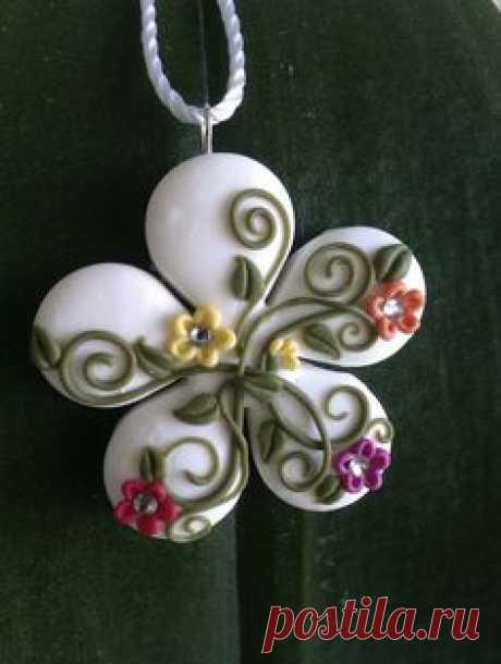 1000+ идей на тему: Ожерелье Из Полимерной Глины в Pinterest