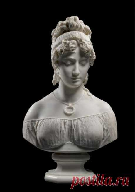 ANTONIO TANTARDINI | BUST OF A WOMAN | 19th and 20th Century Sculpture | Sculpture | Sotheby's