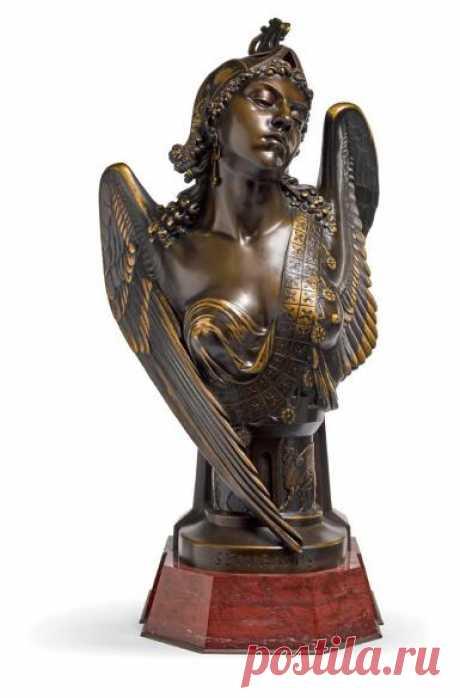 PIERRE EUGÈNE EMILE HÉBERT | BUST OF SEMIRAMIS | 19th and 20th Century Sculpture | Sculpture | Sotheby's