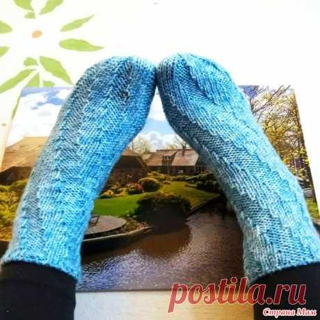 Спиральные носки - Вязание - Страна Мам