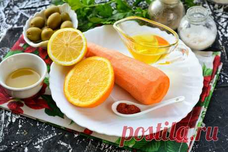 Марокканский салат из моркови: рецепт с фото пошагово