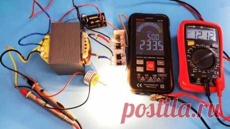Как сделать простой инвертор 12-220 В мощностью 2500 Вт частотой 50 Гц   Сделай Сам - Своими Руками   Пульс Mail.ru Инвертор предназначен для получения 220-вольтового переменного напряжения из невысокого постоянного. Подключается к любому 12-вольтовому...