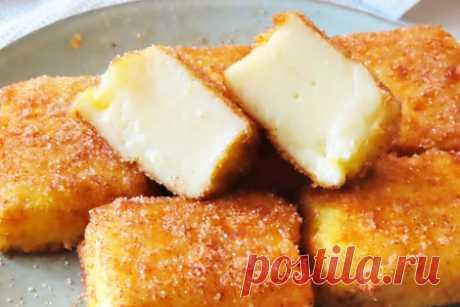 Десерт жареное молоко – пошаговый рецепт с фотографиями