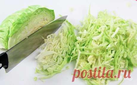 Как сохранить цвет капусты