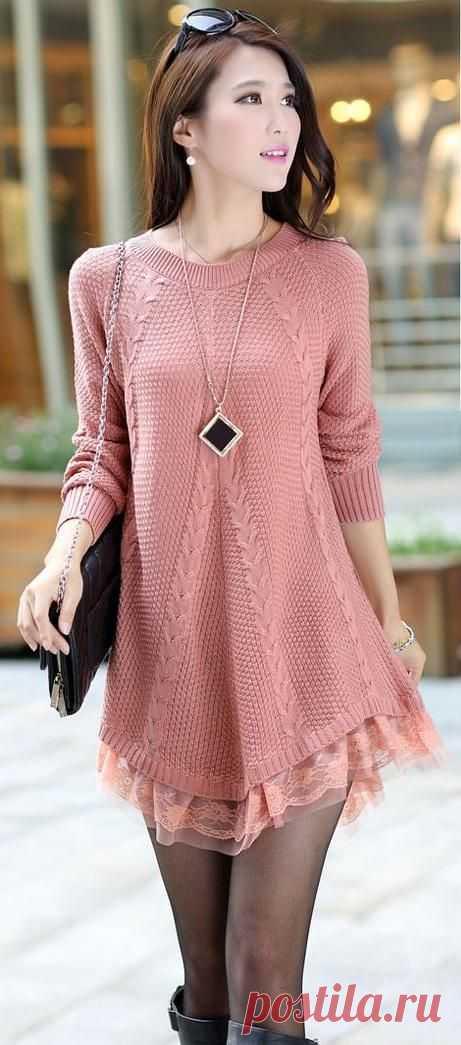 Платье (пуловер)