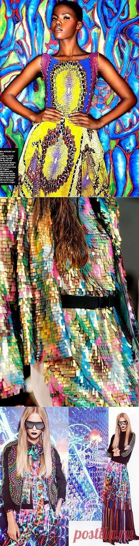 Буйство красок! (трафик) / Street Style / Модный сайт о стильной переделке одежды и интерьера