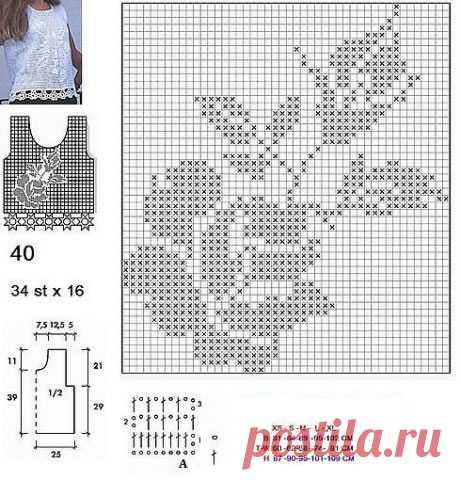 Филейное платье с розами – ТОП 10 моделей крючком со схемами и описанием