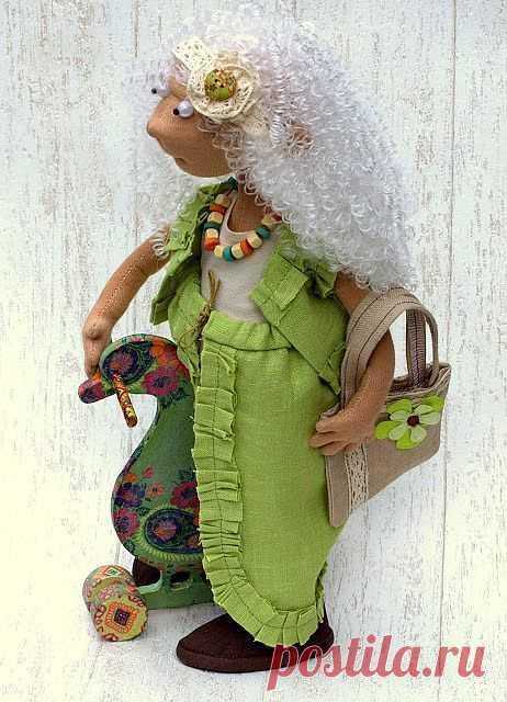 """Творческая мастерская  """"МариМон"""": Интерьерная кукла Ангел- Хранитель украшений Аннет."""
