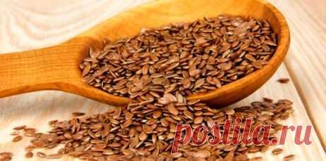 Рецепт для похудения льняное семян