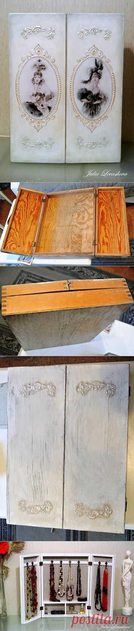 Шкафчик для бижутерии. А было - дрова!! | Золотые Руки