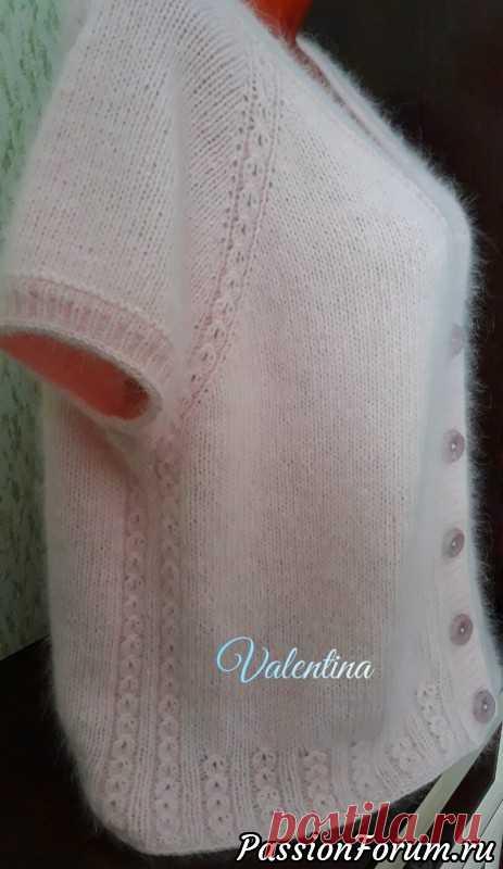 Мои работы из пуха норочки..пуловеры и жилет...   Вязание спицами. Работы пользователей