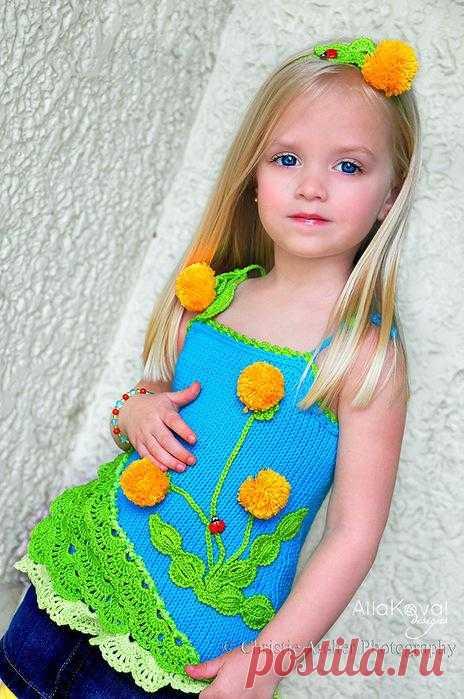 Dandelions for a vnuchenka