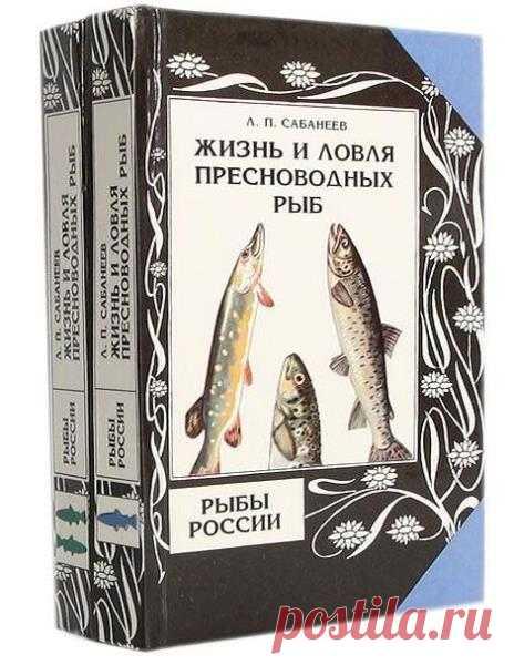 Сабанеев Л. П. - Рыбы России (в 2-х томах)