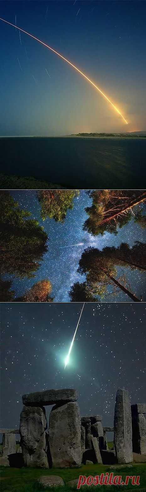 10-13 августа 2013, Персеиды Персеиды – один из наиболее ярких метеорных дождей года. Лучше всего наблюдать эти метеоры после полуночи и, к счастью, в 2013 году Луна этому практически не помешает, так как будет заходить довольно рано. Обычно метеоры этого дождя очень яркие и быстрые, а для наблюдения не стоит концентрироваться на каком-то одном регионе небосвода – они появляются по всему небу. В этом году стоит ожидать около 50 метеоров в час,так что зрелище должно быть захватывающим. В дополне