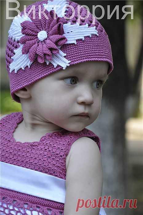 """шляпка """"Цветок Олеандра""""; от Викторрия."""