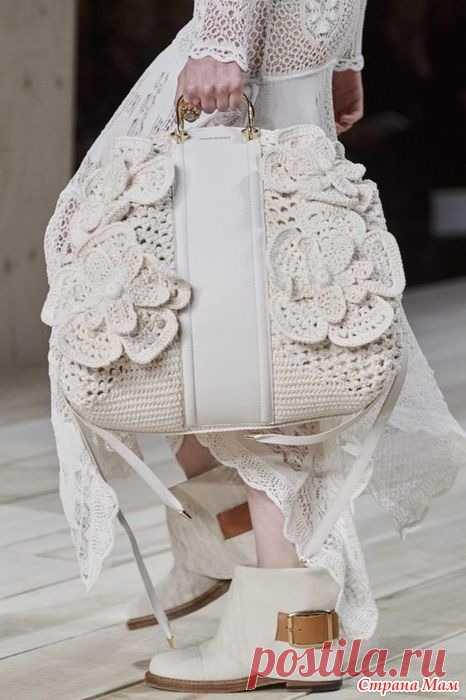 Сумка с Парижской недели моды. Я влюбилась!