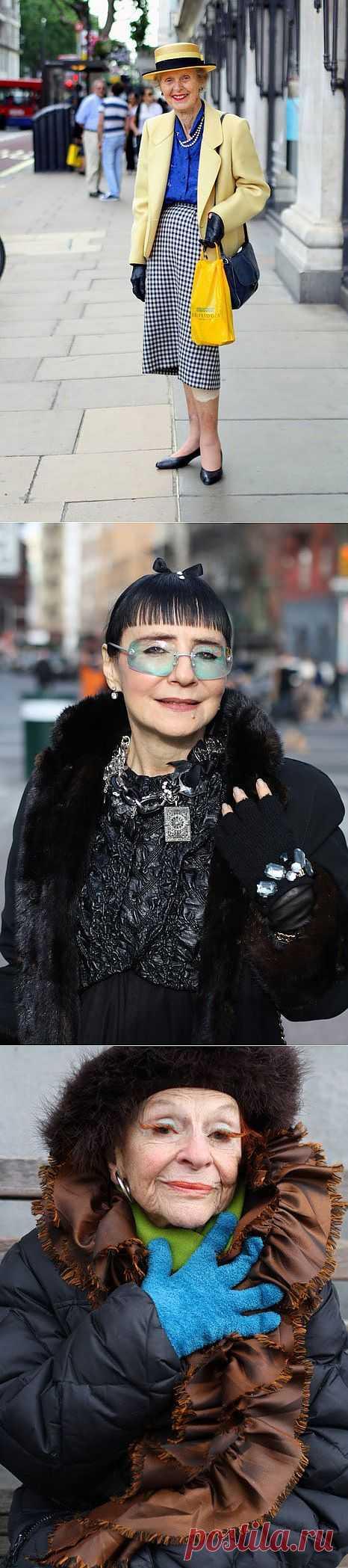 Стильная старость -часть 4 (трафик) / Street Style / Модный сайт о стильной переделке одежды и интерьера