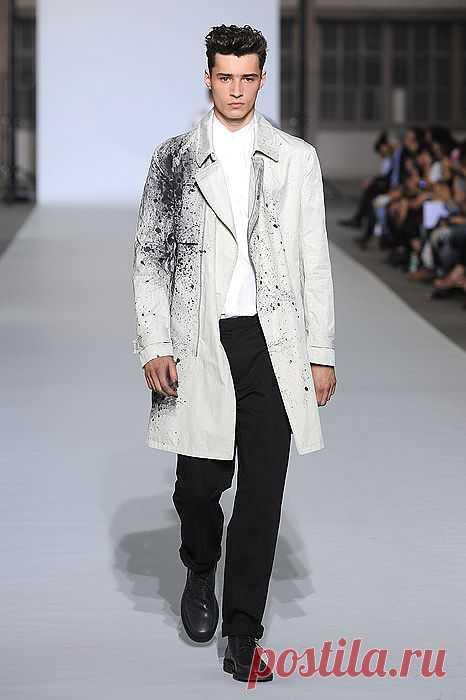 Пальто KRIS VAN ASSCHE / Пачкаем / Модный сайт о стильной переделке одежды и интерьера
