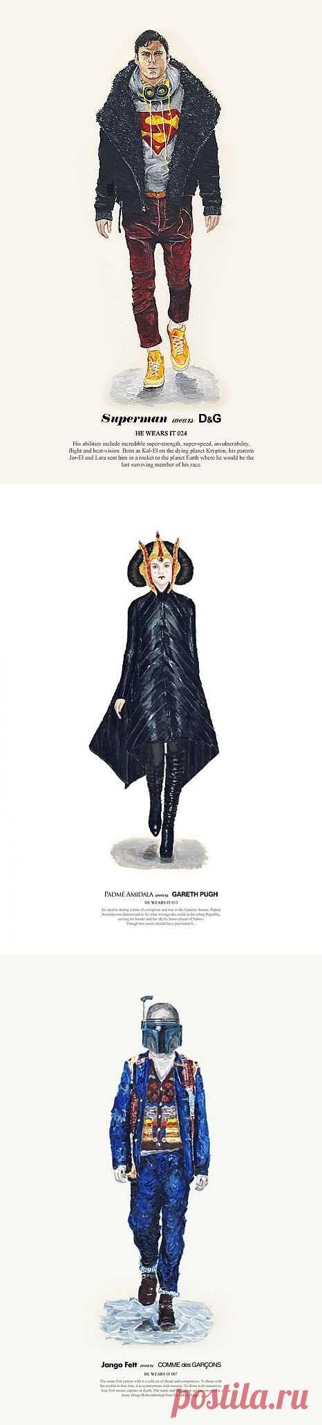 Супергерои атакуе! / Арт-объекты / Модный сайт о стильной переделке одежды и интерьера