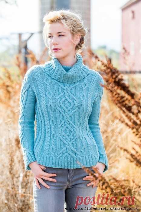 свитер «Braided Brook»
