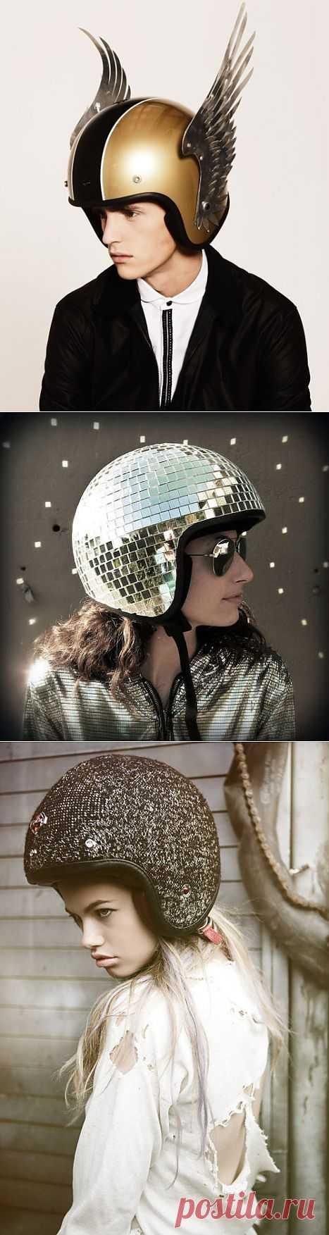 Три шлема для мотоциклистов / Авто Мото Вело / Модный сайт о стильной переделке одежды и интерьера