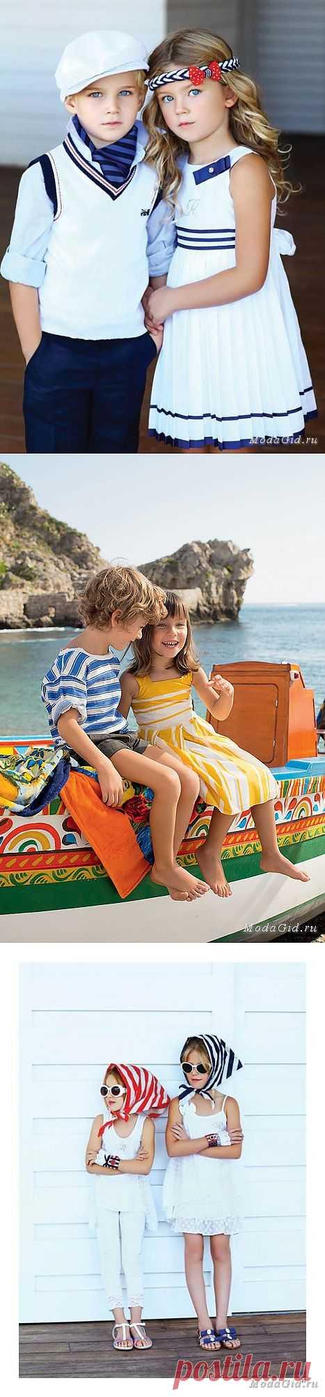 Полоска в детской одежде весна-лето 2013 (подборка) / Для детей / Модный сайт о стильной переделке одежды и интерьера