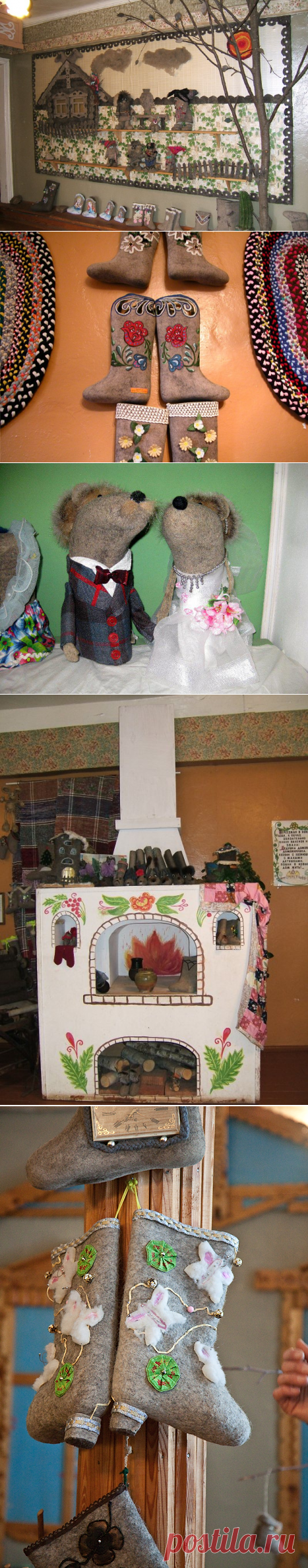 Музей валенок в городе Мышкин (34 фото)