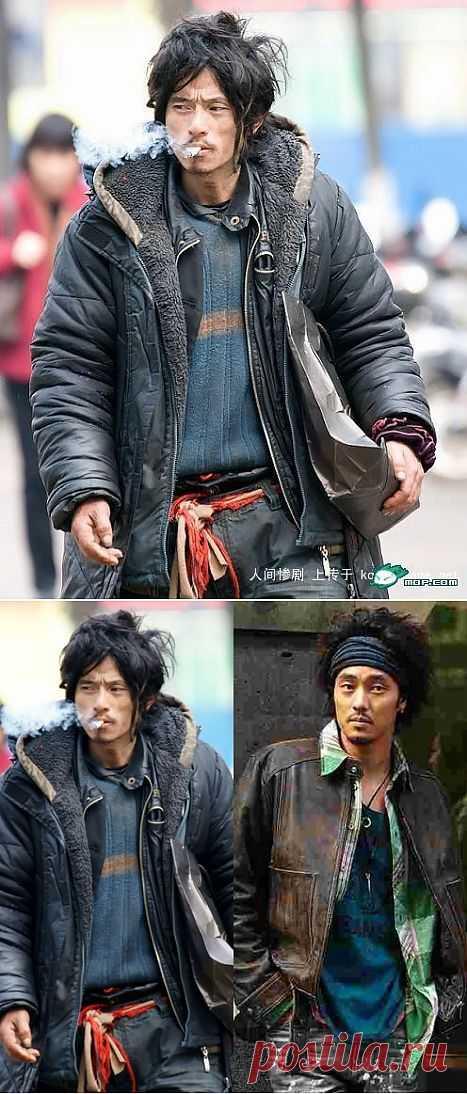 Си Ли Гэ - самый знаменитый модник - бездомный / Креатив в моде / Модный сайт о стильной переделке одежды и интерьера