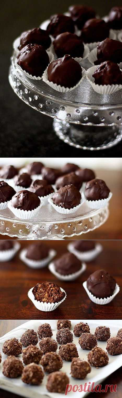 Ferrero Rocher дома.