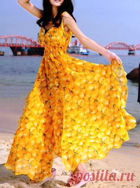 Летняя мода 2018 — выбираем самые красивые сарафаны