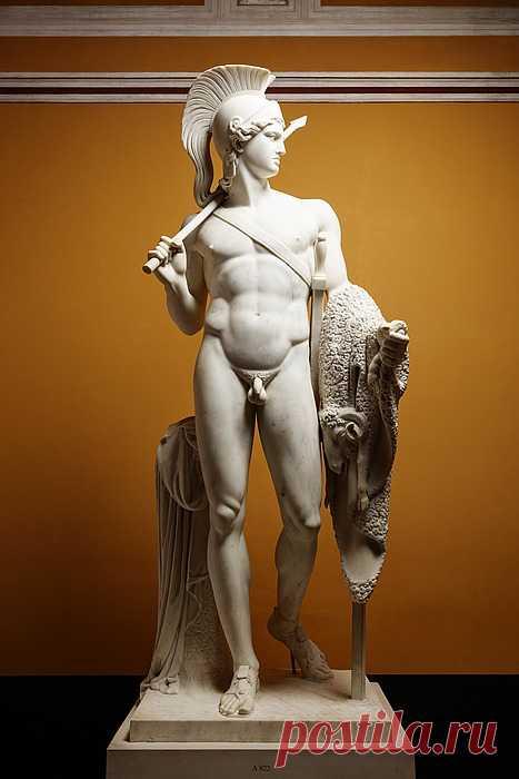 Ясон с золотым руном, 1803 г. Бертель Торвальдсен  Мрамор. 242 см  Скульптуры в Санкт-Петербурге https://vk.com/sculpture_na_zakaz_spb  #скульптураспб #ясон #торвальдсен #статуяспб #скульптурыспб #статуиспб #скульптура #стауя