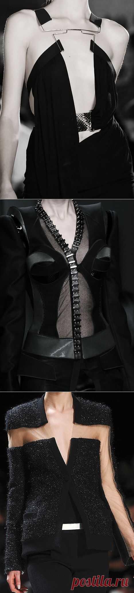 Платье на скрепке +2 / Детали / Модный сайт о стильной переделке одежды и интерьера