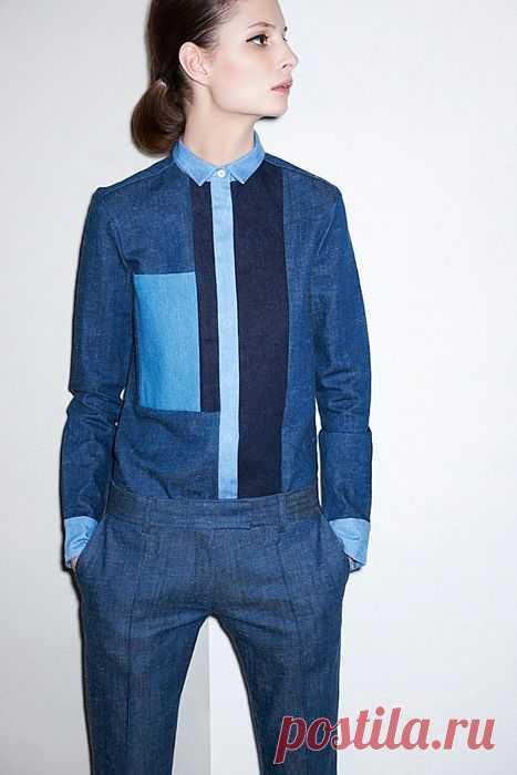 Рубашка из деталей / Пэчворк / Модный сайт о стильной переделке одежды и интерьера