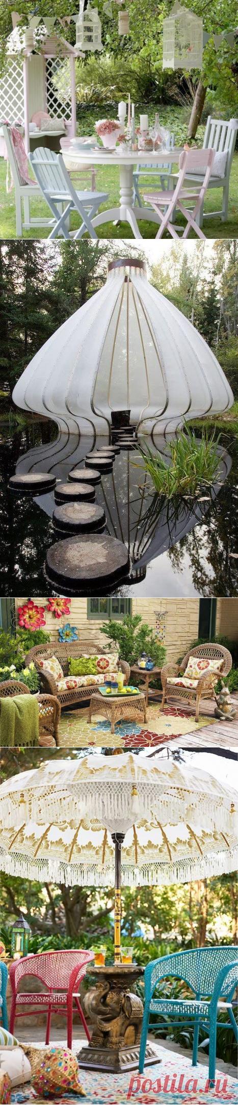7 ideas abruptas para el jardín