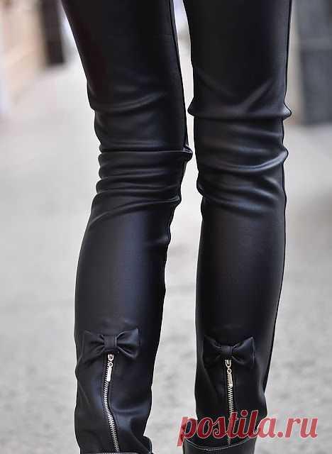 Бантик на брюках / Брюки / Модный сайт о стильной переделке одежды и интерьера