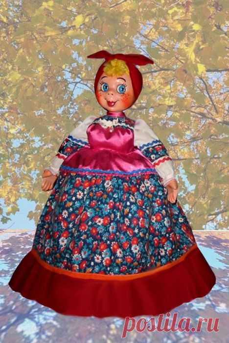 Грелки кукла на чайник своими руками