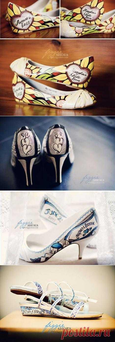 ТОнеТО | Модный тренд – роспись обуви вручную (ФОТО) | Новости про товары, услуги, компании, технологии