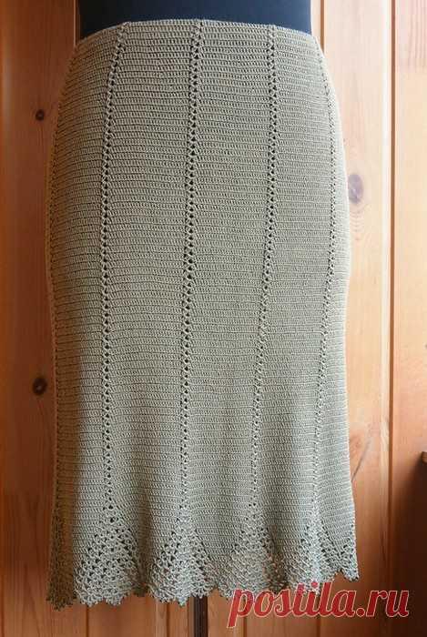 красивая юбка с Осинки