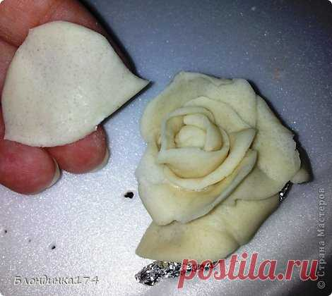 Как сделать очень симпатичные соленые розочки