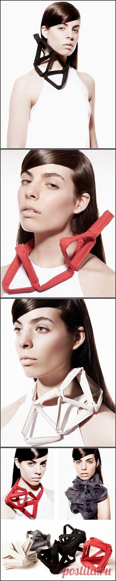 И бусы, и шарф, и браслет / Аксессуары (не украшения) / Модный сайт о стильной переделке одежды и интерьера